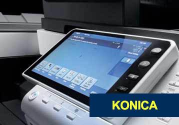California Konica copier dealers