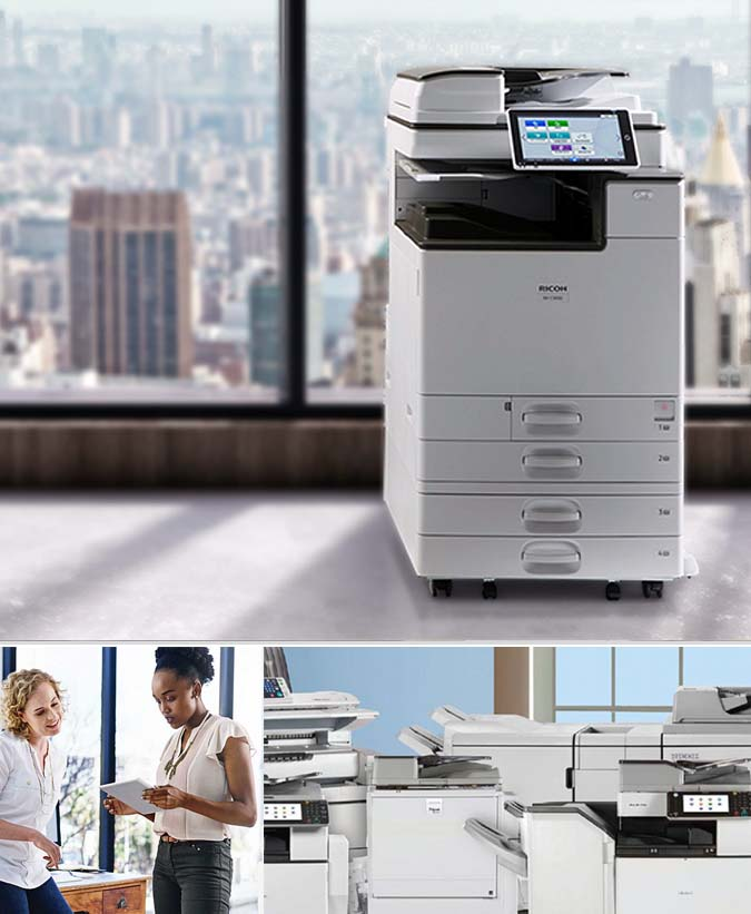 Ricoh Aficio Mp C305 copiers price